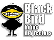 Black bird home inspectors logo lock up stacked 1jpg