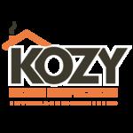 Kozy logo on black