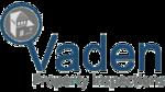 Vaden property inspections website logo