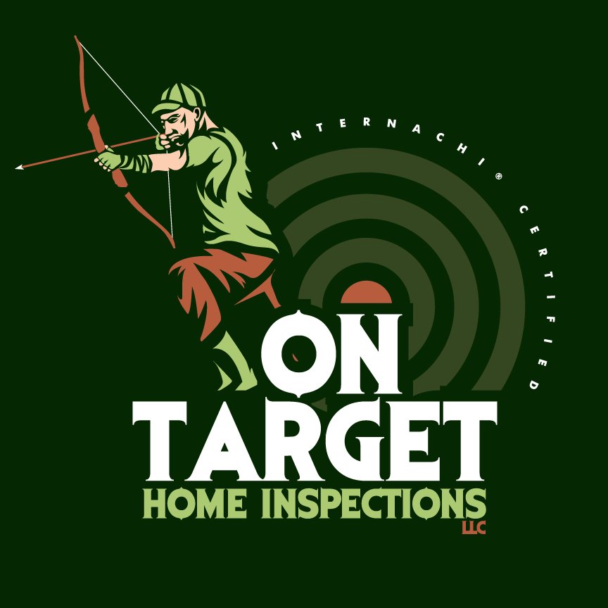 On target home inspector logo