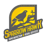 Sparrow hawk home inspector logo