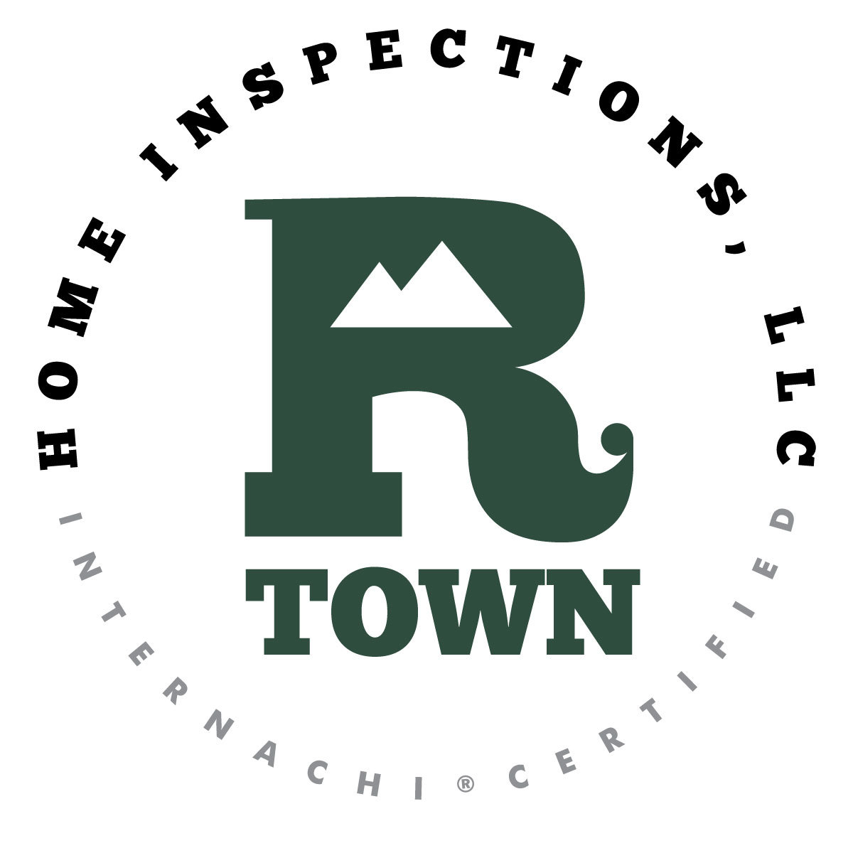 Rtown home inspector logo