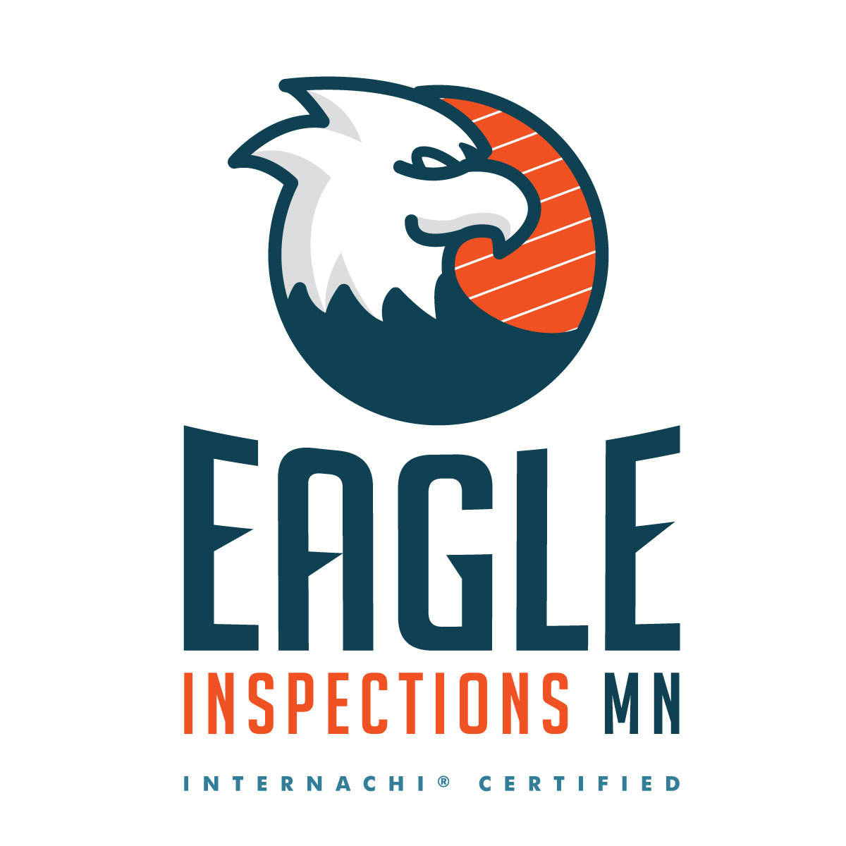 Eagleinspections mn home inspector logo