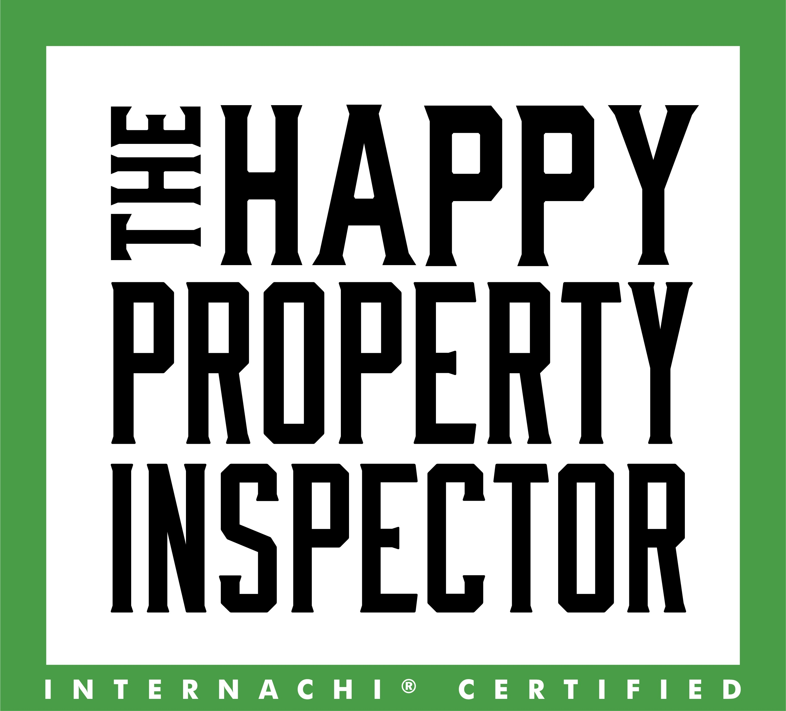 The happy inspector logo