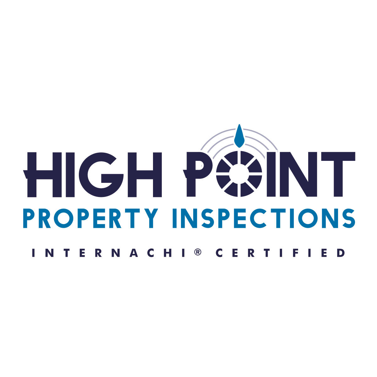 High point home inspector logo