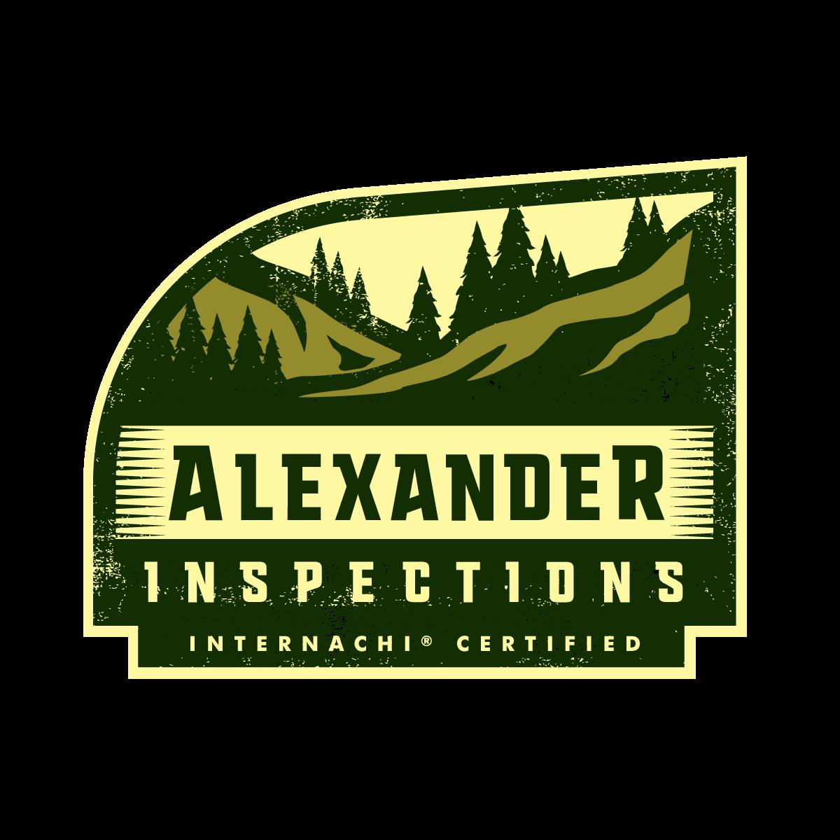 Alexander home inspector logo