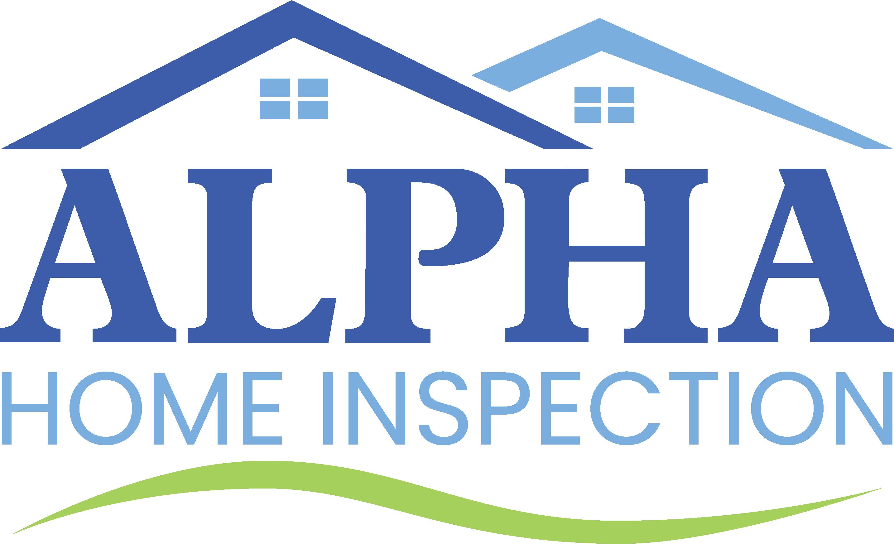 Alpha home inspection new logo