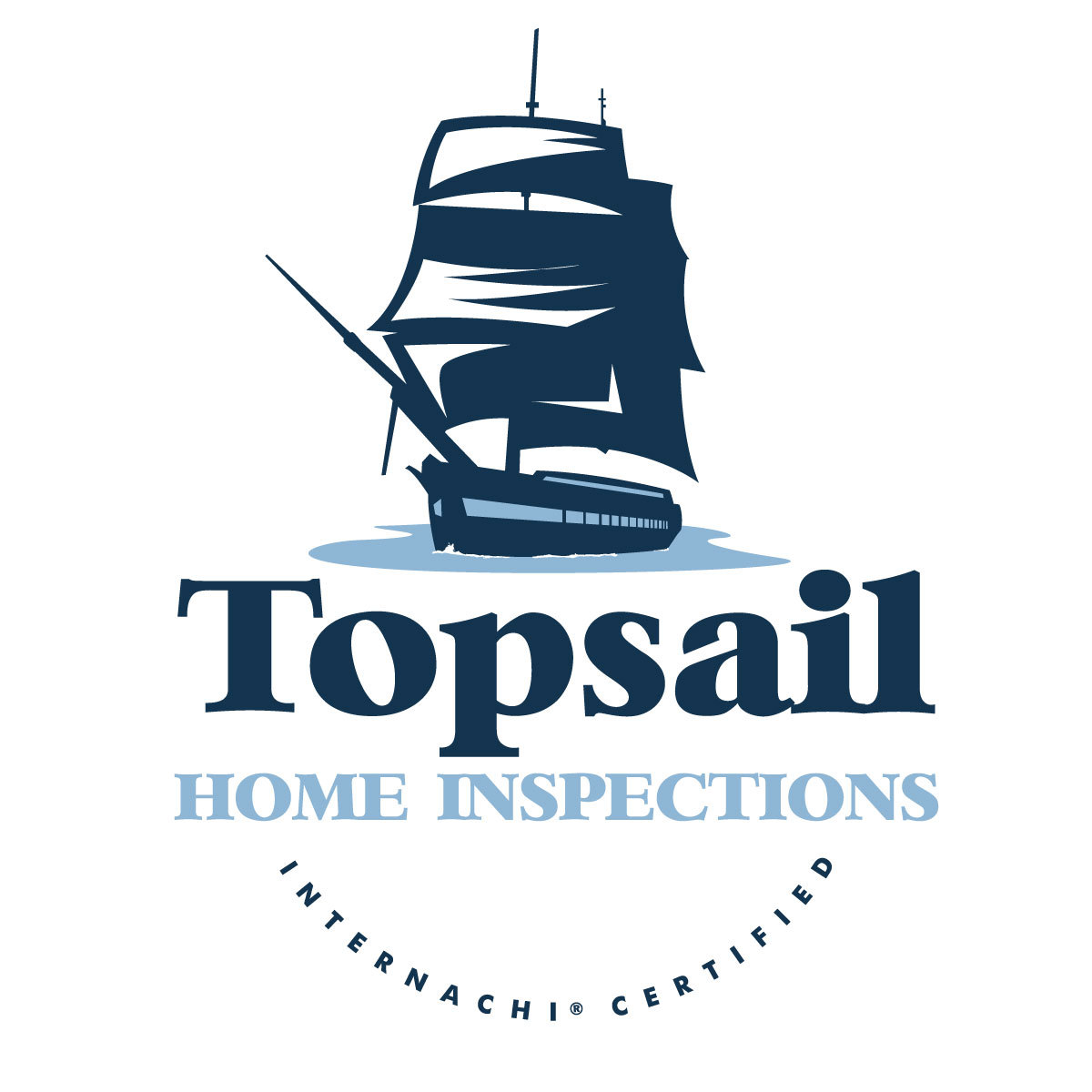Topsail home inspector logo new