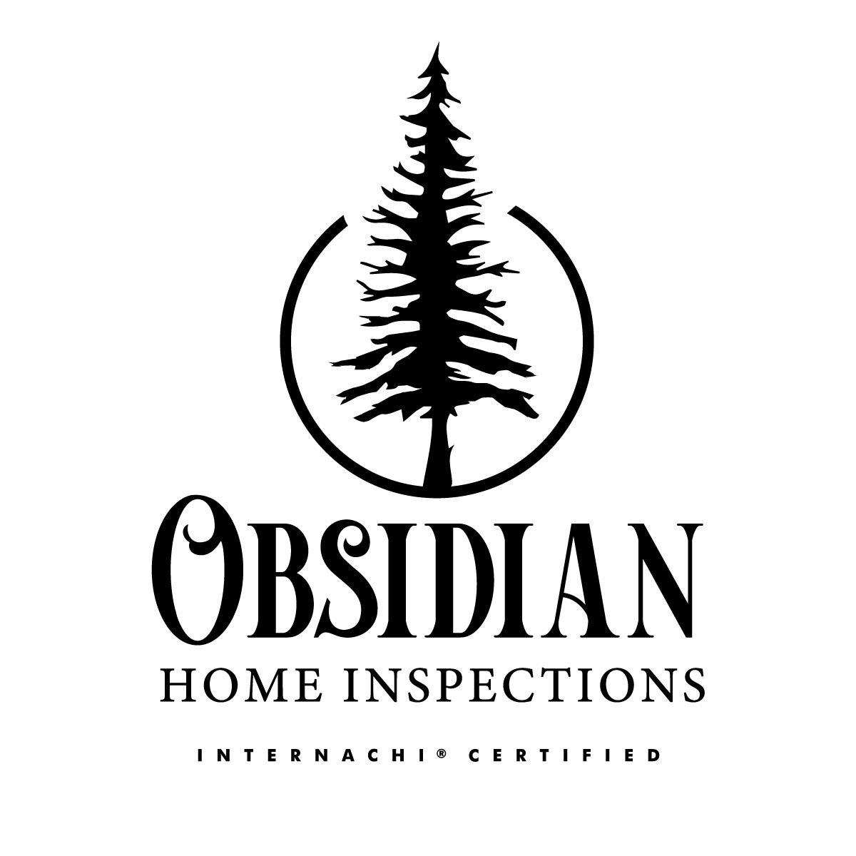 Obsidian logo white