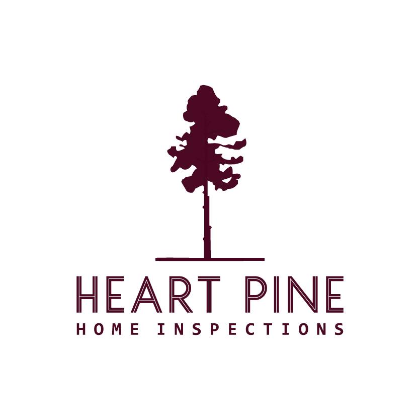 Heart pine logo