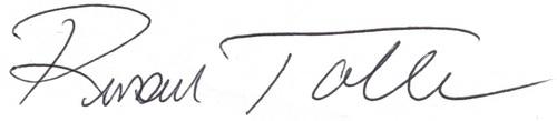 Russ signature
