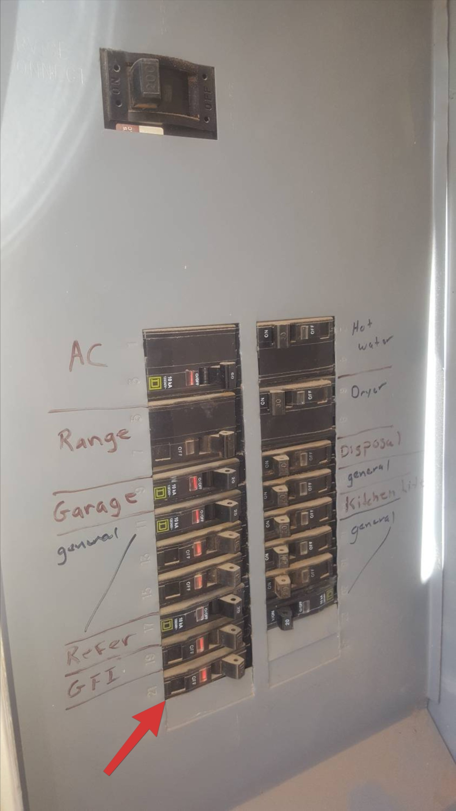 Sample Report The Dwelling Inspector Claims 60 We Claim 1 An Arc Fault Circuit Interrupter Afci Device Breaker Not Labeled