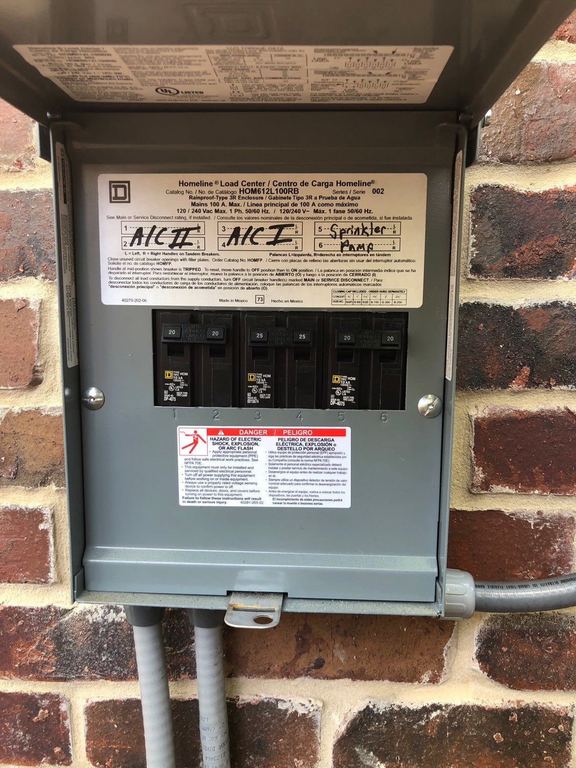 Sample Report Rest Ashore Home Inspection Llc Electrical Arc Fault Safety Advice For Homeowners Inspectors Outdoor Receptacles Test Reset Switches Are Located In The Garage If There Is Ever No Power To Exterior Check Gfci Outlet